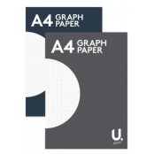A4 Graph Paper Pad (2mm Grid)