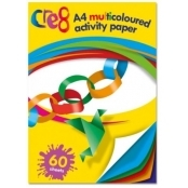60 Sheets A4 Multi-coloured Activity Paper