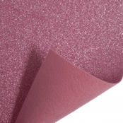 Light Pink Glitter Felt Sheet