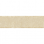 Gold Glitter Ribbon 20mm X 15m