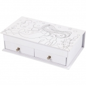 Printed Mermaid Jewellery Box