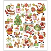 Happy Santa Sticker Sheet