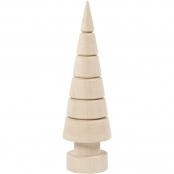 Wooden Christmas Tree 18cm