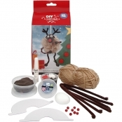 DIY Silk Clay Reindeer Kit