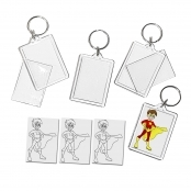 Super Hero Keyring  - Single