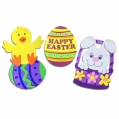Foam Easter Magnet Craft Kit (3 Pack)