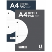 A4 Lined Refill Pad With Margin