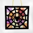 Black Spider Stained Glass Window Effect Kit