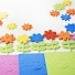 Foam Flower & Leaf Stickers - Pack of 180
