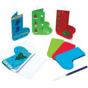 Christmas Bootie Cards - 3 Pack