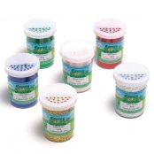 Glitter Shakers 100g - Pack of 6