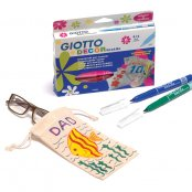 Giotto Fabric Pens 12 Pack