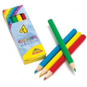 Colouring Pencils - 4 Pack