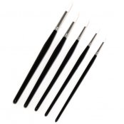 Major Brushes Synthetic Brushes Mixed Sizes - Pack of 5