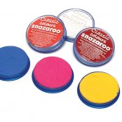 Snazaroo Yellow 18ml Face Paint Pot