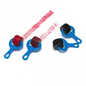 Paint & Dough Explorer No. 3 - Set of 4 Rollers