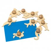 Wooden Sealife Templates (Set Of 9)