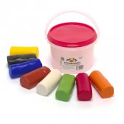 Large Play Dough Set (8 Colours)