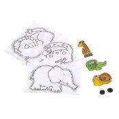 Shrinkles Animal Magnets (Pack Of 4)