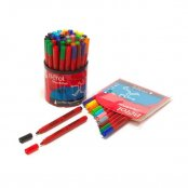 Berol Colourbroad Broad Tip Pens - Tub of 42