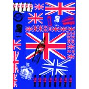 Decopatch Paper 530 - Half Sheet - Union Jacks
