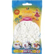 Hama Beads Solid Colours 1000 pack - 01 White