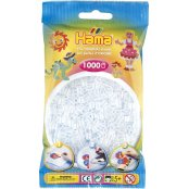 Hama Beads Solid Colours 1000 Pack - 19 Clear