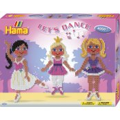 Hama Beads Set - Let's Dance