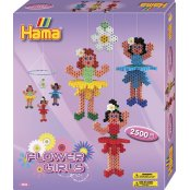 Hama Beads Set - 3D Flower Girl Mobile