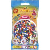 Hama Beads 1000 Pack - 00 Solid Mix