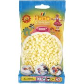 Hama Beads Solid Colours 1000 Pack - 02 Cream