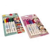 Marabu Porcelain Pen Set - Rose