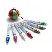 Marabu Metallic Porcelain Pen Red