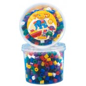 Hama Mix Pack 500 Maxi Beads - Solid Colours
