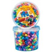 Hama Mix Pack 500 Maxi Beads - Pastel Colours