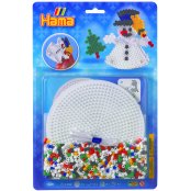 Large Christmas Midi Hama Bead Kit - Snowman