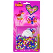 Small Midi Hama Bead Starter Pack - Heart