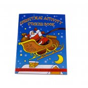 A6 Christmas Sticker Book
