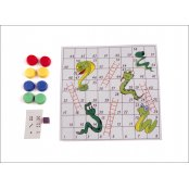 Small Snakes & Ladders Game