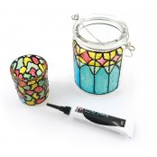 Marabu Black Outline Pen for Glass decorating