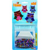 Mini Hama Beads Set - Owl
