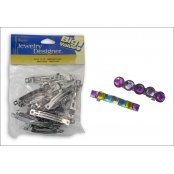 Steel Bow Hair Clips - 18 Pack