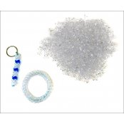Crystal Clear Tri-beads - 380 Beads