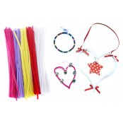Pack Of 100 Pastel Colour Pipe Cleaners