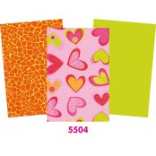 Decopatch Paper 3 Pack - Pinks (Half Sheets)