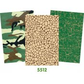 Decopatch Paper 3 Pack - Greens (Half Sheets)
