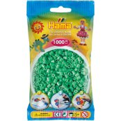 Hama Beads Solid Colours 1000 Pack - 11 Light Green