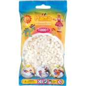 Hama Beads Solid Colours 1000 Pack - 64 Pearl