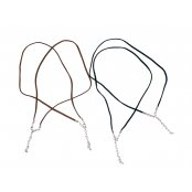 Necklace Cords - Brown 3 Pack
