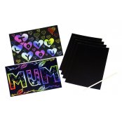 Scratch Art Sheets